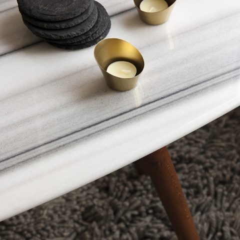 ELISSE MARBLE COFFEE TABLE